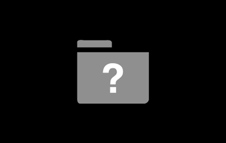 Símbolo de interrogación Mac