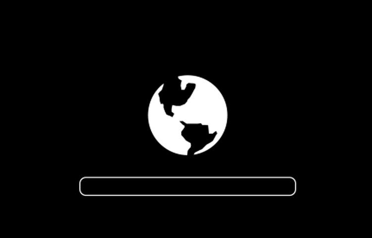 Planeta girando