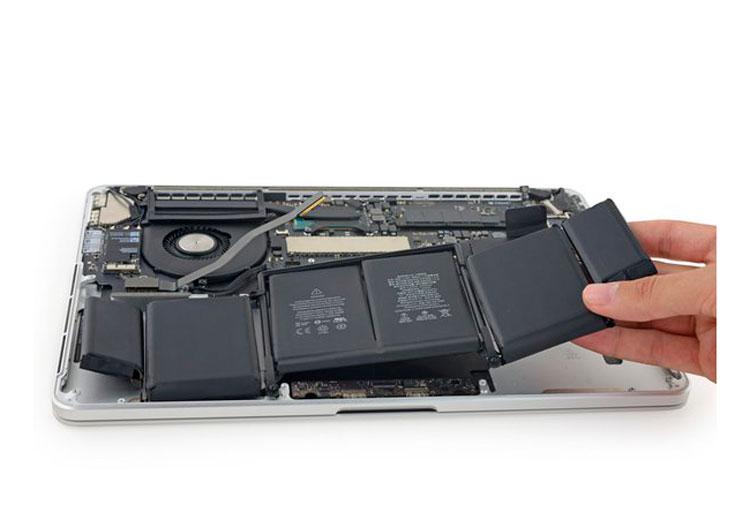 Cambio de batería del MacBook Pro
