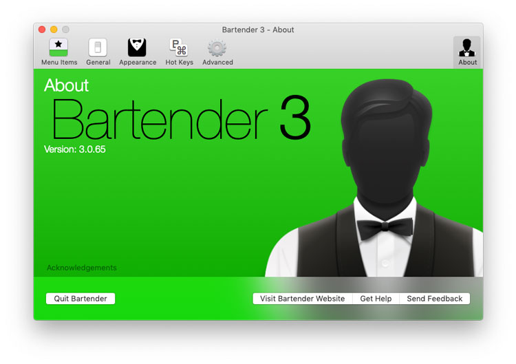 Descargar Bartender 3 para Mac