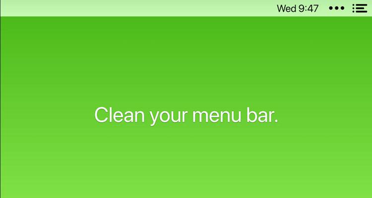 Iconos ocultos en Mac