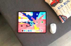 Usar un ratón en el iPad