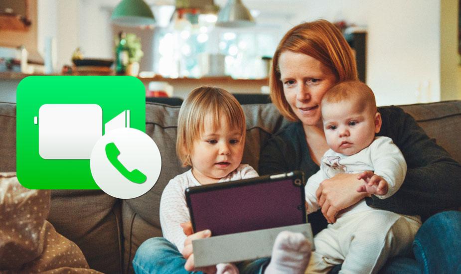 Configurar un número nuevo o email en FaceTime para llamar y recibir llamadas