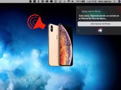 Localizar iPhone desde Siri en Mac