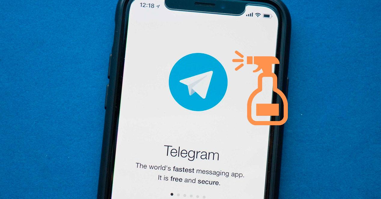 Limpiar la caché de Telegram para recuperar espacio de almacenamiento