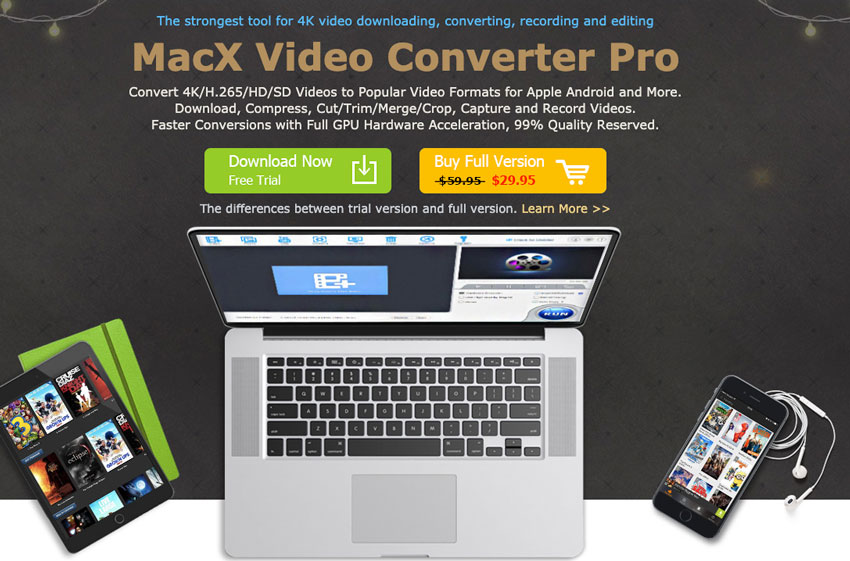 Trial gratis de MacX Video Converter Pro