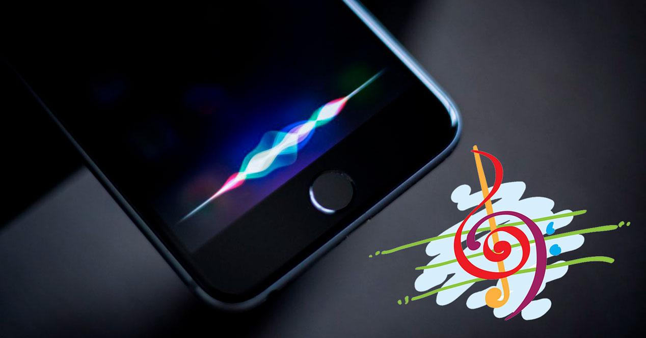 Ver las canciones identificadas por Siri