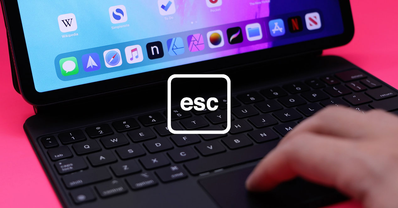 Tecla ESC en el Magic Keyboard del iPad Pro