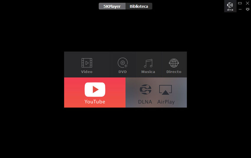 5K Player User Interface
