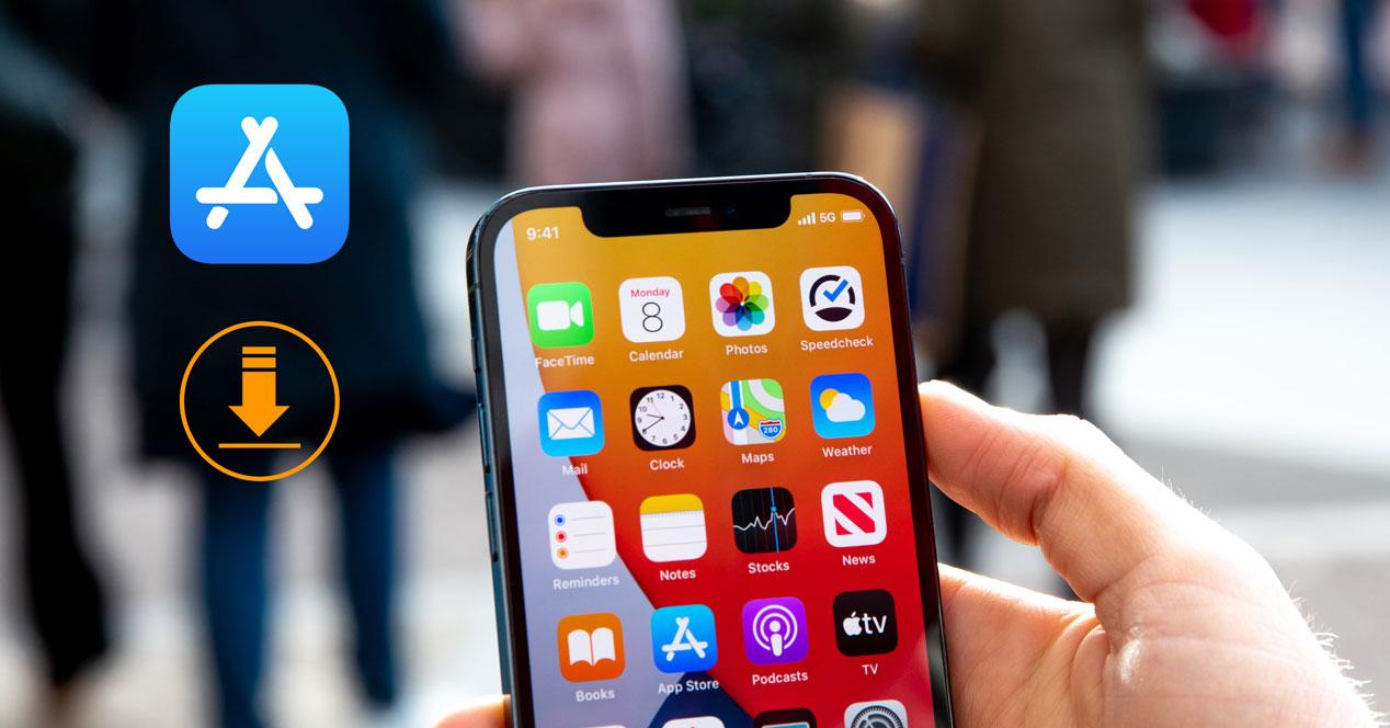 Cambiar el límite de descarga de apps con conexión de datos del iPhone