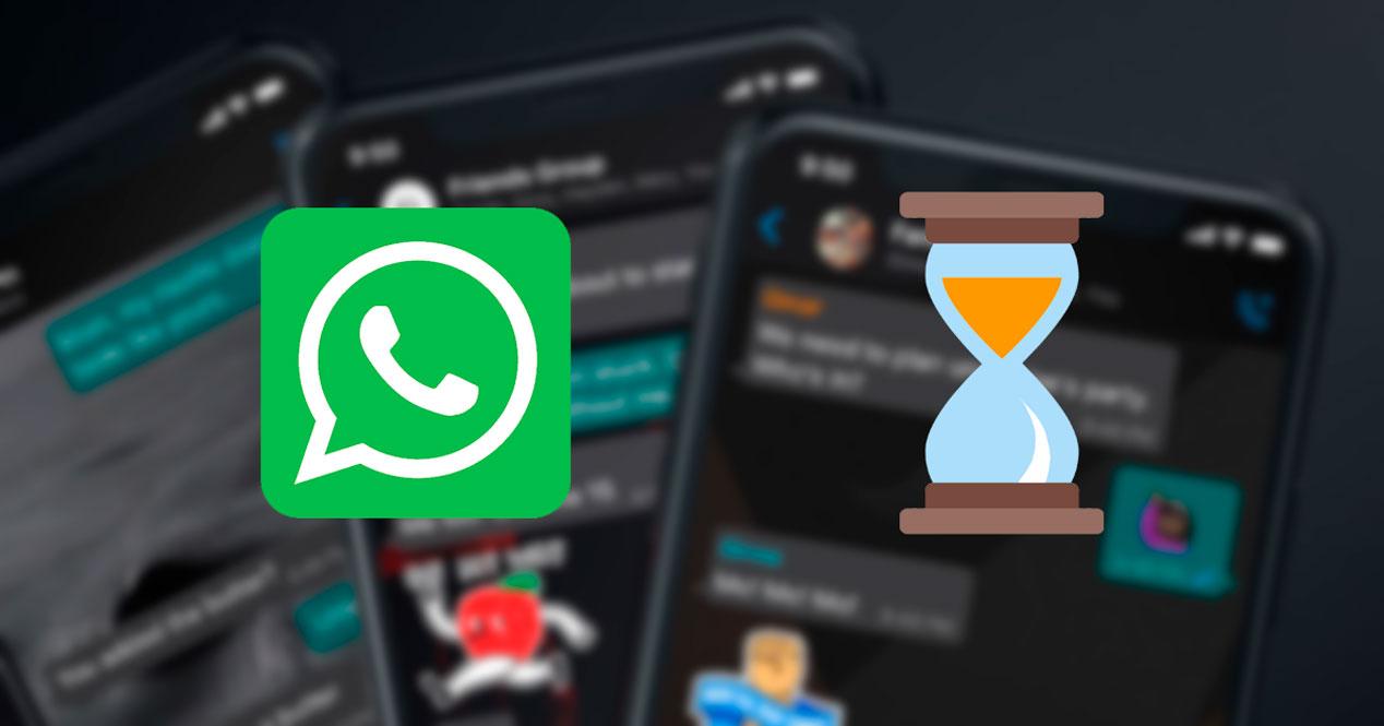 Activar mensajes temporales en WhatsApp para iPhone