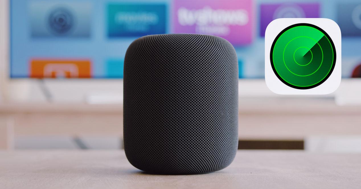 Buscar un iPhone con el HomePod o HomePod Mini