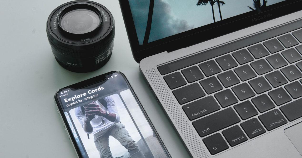 Insertar fotos en Mac desde iPhone