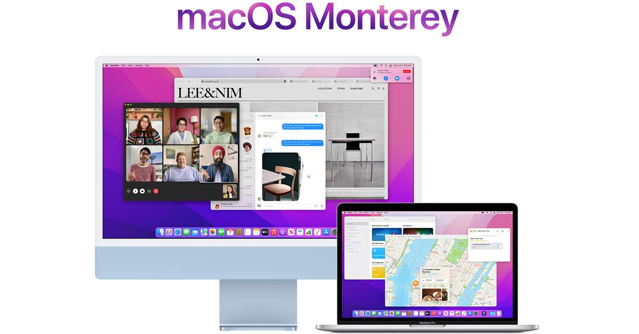 Dispositivos Compatibles con MacOS Monterey
