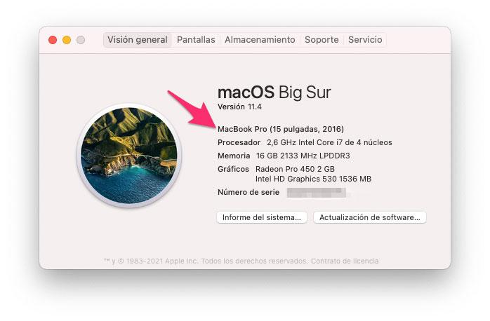 Comprobar si tu Mac es compatible con macOS Monterey