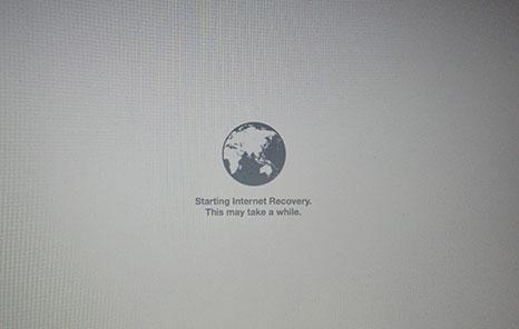 Accediendo al modo recuperación de un Mac