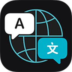 Logo de la app Traducir del iPhone